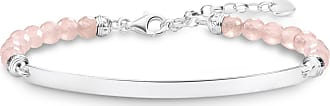 Thomas Sabo Thomas Sabo Engravable bracelet pink LBA0121-034-9-L19V