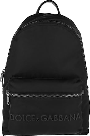 Dolce & Gabbana Vulcano Backpack Nylon Black Rucksack schwarz