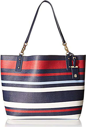 48296d71dc Tommy Hilfiger Travel Tote Bag for Women Gabby, Navy/Multi