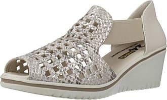 24 Horas Women Sandals and Slippers Women 24445 Beige 5.5 UK