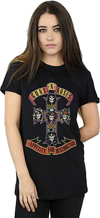 Guns N Roses Girls Appetite for Destruction Cross Arched Type T-Shirt