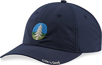 c0f3d04ad5e91 Life is good Pine Tree Color Patch Get Out Cap OS Darkest Blue