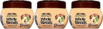 Garnier Hair Care Whole Blends Nourishing Mask with Avocado Oil & Shea Butter Extracts for Dry Hair, 3 Count