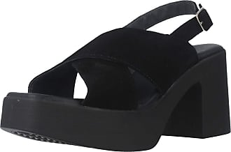 Yellow Women Sandals and Slippers Women Times Square Black 7.5 UK