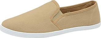 Dunlop Mens Gary Canvas Shoes - Stone Beige - UK 12