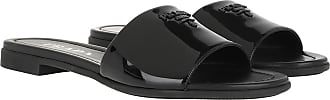 Prada Sandals - Sandal Patent Leather Black - black - Sandals for ladies