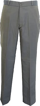 Relco New Mod Retro Two Tone Trousers Green/Gold (32, Tonic Green/Gold)