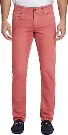 Robert Graham Mens Ericson Perfect Fit Jeans In Red Size: 29W by Robert Graham