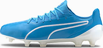 Puma King Platinum Mens Fg/Agfootball Boots, Luminous Blue/White, size 6, Shoes