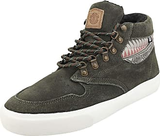 Element Topaz C3 Mid Mens Chukka Trainers in Forest - 12 UK