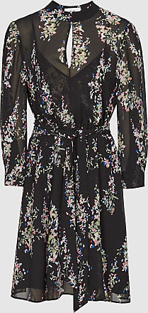 Reiss Peonia - Floral Printed Mini Dress in Multi, Womens, Size 10