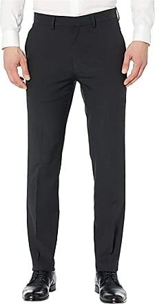 Black Black Hem /& Seam Herren Anzughose Stretch Regular Fit 34R Schwarz