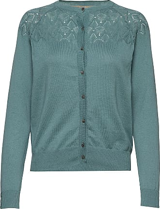 Girls Cropped Cardigan in Pink, Navy and Aqua