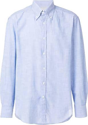 Brunello Cucinelli button down casual shirt - Azul