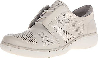Clarks Womens Un Voltra Everyday Casual Shoe, White Leather, 8.5 M US