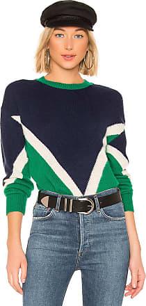 J.O.A. Chevron Sweater in Navy