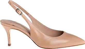 Unisa scarpa con tacco slingback, 35 / suntan