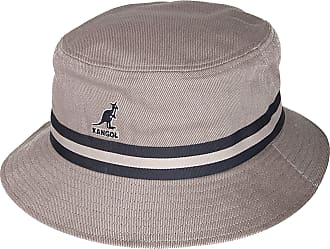 3d6693a5f2d Kangol Men Bucket Hat Stripe Lahinch - Grey - L
