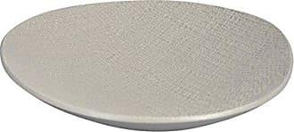 Sagebrook Home Ceramic Wave Bowl, Cream, 14.75x14x3.75
