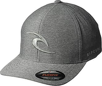 Rip Curl Mens Phase Icon Curve Peak Cap Hat, Dark Grey 1SZ