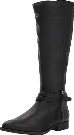 Frye Womens Melissa Belted Tall Knee High Boot, Black, 7 UK