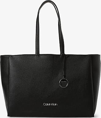 Calvin Klein Damen Shopper mit Innentasche schwarz