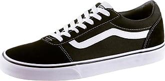 Vans Ward Sneaker Herren in black-white, Größe 46