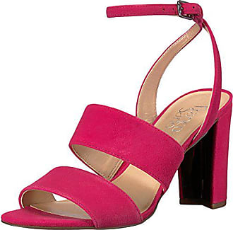 Franco Sarto Womens HANELI Heeled Sandal, hotpink, 7.5 M US