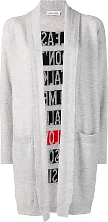 Quantum Courage Cardigan com estampa posterior - Cinza