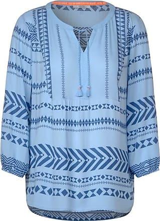 Cecil Tunika im Ethno-Style - soft blue