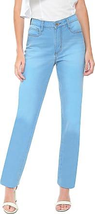 Enna Calça Jeans Enna Reta Estonada Azul