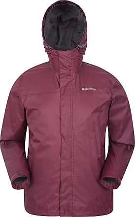 for Travelling Lightweight Coat Taped Seams Waterproof Raincoat Zipped Pockets Casual Cagoule Jacket Mountain Warehouse Torrent Mens Waterproof Rain Jacket