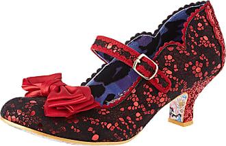 Irregular Choice Womens Summer Breeze Mary Janes, Red (Red BRN), 3.5 (36 EU)