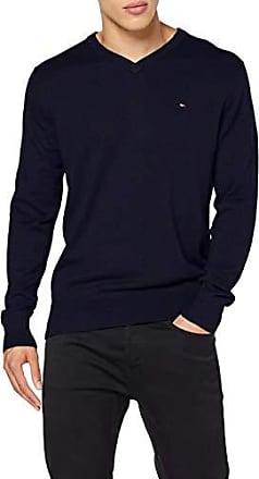 Tommy Hilfiger Pima Cotton Cashmere V Neck Sweat Shirt Homme