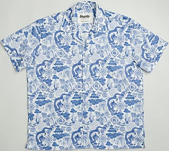 Brava Fabrics Mens Shirt - Mens Casual Shirt - Mens Shirt - 100% Cotton - Model Chinese Jar