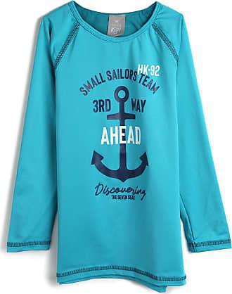 Hering Kids Camiseta Hering Kids Menino Estampa Azul