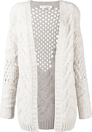 Iro chunky knitted cardigan - Neutro