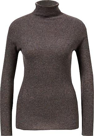 Fabiana Filippi Woll-Seiden-Pullover Braun