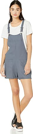 Roxy Womens Compass Direction Short Overalls, Turbulence, XS