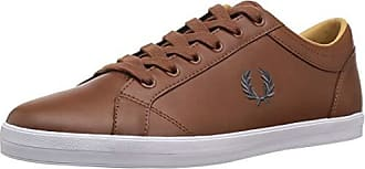 a58149ecb8 Fred Perry Mens Baseline Leather Sneaker, tan, 10 D UK (11 US)