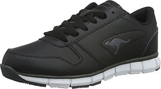 Kangaroos Kangaroos K-bluerun 700 B, Unisex Adults Low-Top Sneakers, Black (Black/Dk Grey 522), 10.5 UK (45 EU)