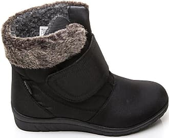 NEW WOMENS SHOES LADIES SNUG BOOTS COSY FLAT PLATFORM PULL ON FUR LINED CASUAL