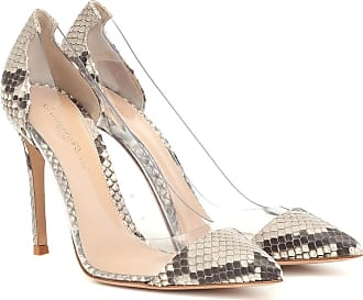 Gianvito Rossi Pumps Plexi in pelle di pitone
