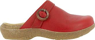 El Naturalista WAKATIWAI Womens Clogs Red Size: 7 UK
