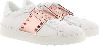 Valentino Sneakers - Open Sneakers White/Gold - white - Sneakers for ladies