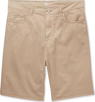 Carhartt Work in Progress Foreman Cotton-blend Twill Shorts - Beige