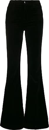 J Brand Jeans Valentina en terciopelo negro