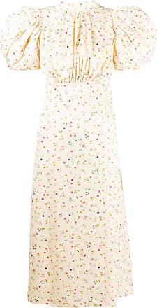 Rotate Vestido com estampa floral - Neutro