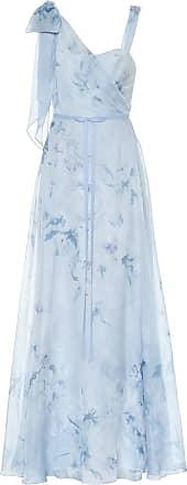 Marchesa Floral chiffon gown