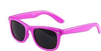 Sakkas DS1006 Retro 1980s Style Sunglasses with Super Dark Lens - Pink